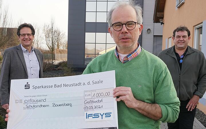 IFSYS sozial Spende Maschinenbau